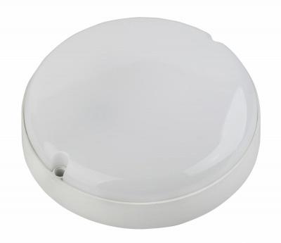 Светильник светодиодный 8Вт 6500К 760Лм IP65 155х78 SPB-201-0-65К-008 круг белый ЭРА